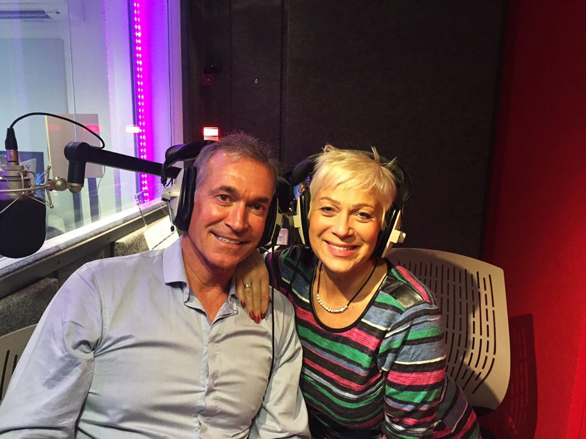 Denise Welch and Hilary Jones