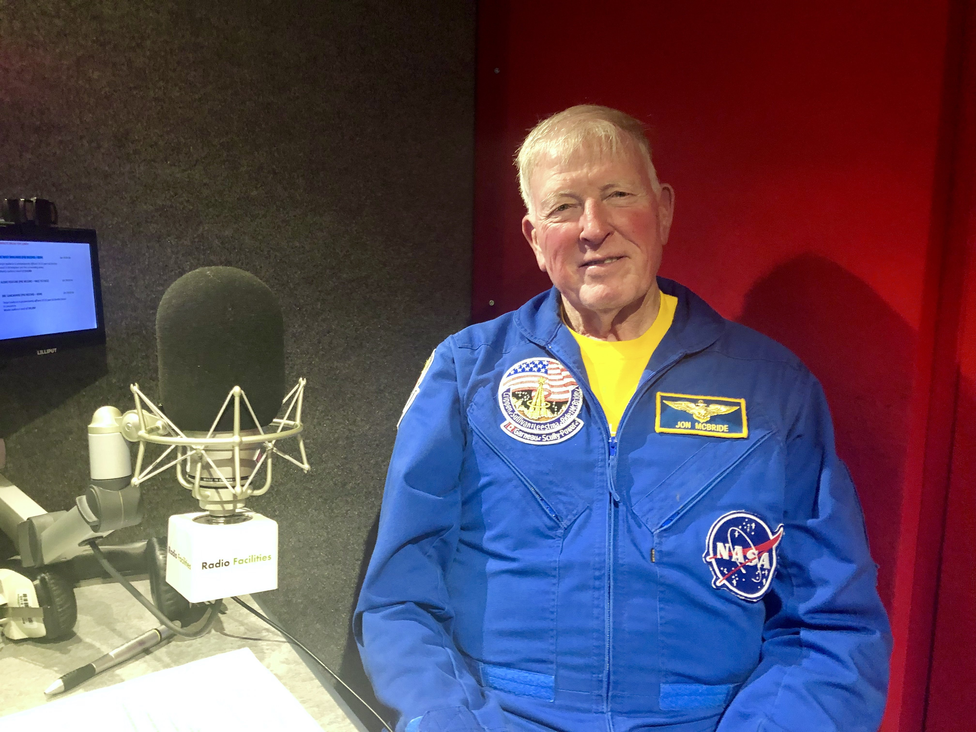 NASA Astronaut Jon McBride