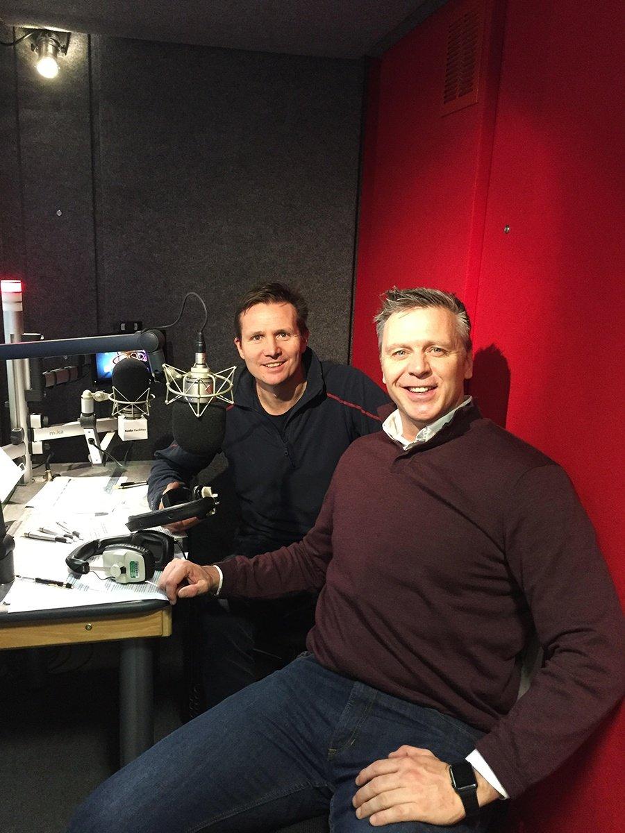 Olympians Roger Black and Steve Backley