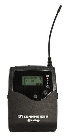 Sennheiser Beltpack Transmitter