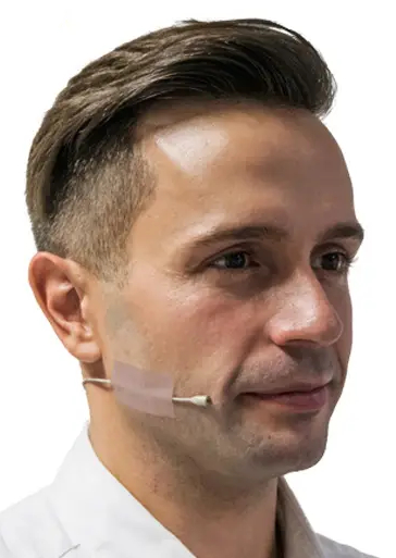 Tape-to-Face / head mic