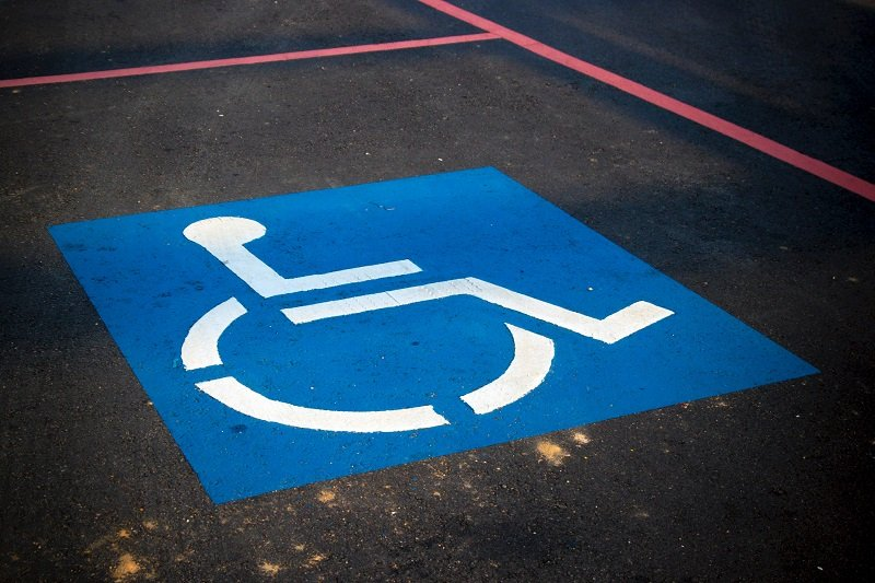 Disabled logo photo by AbsolutVision on Unsplash